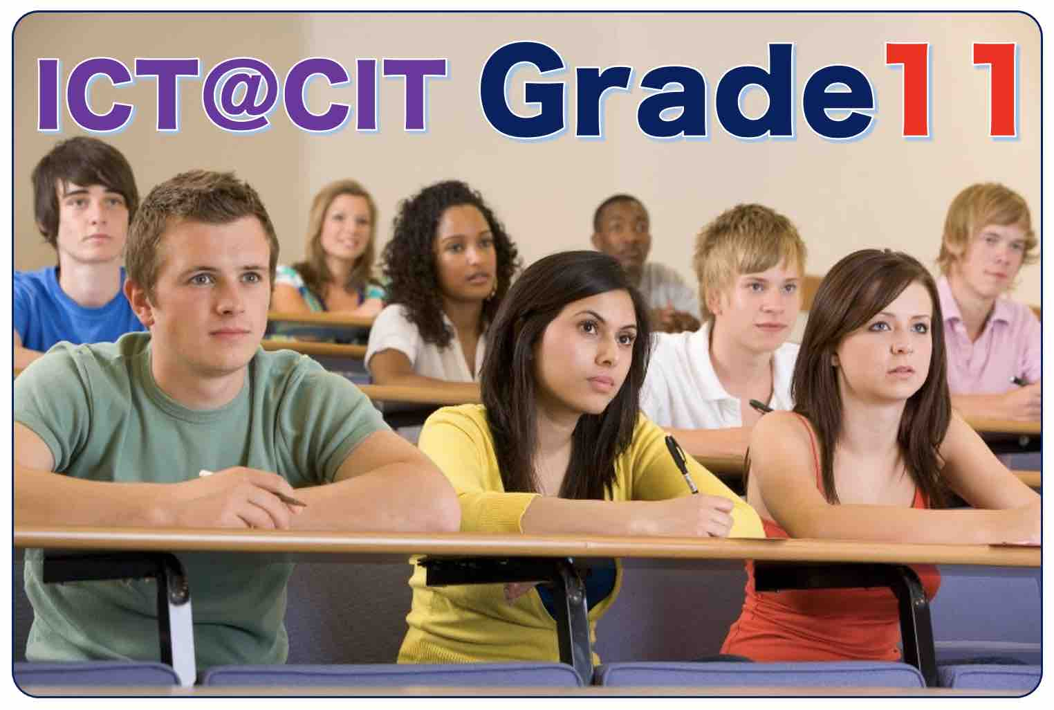 ICT for Grade 11 - 2021